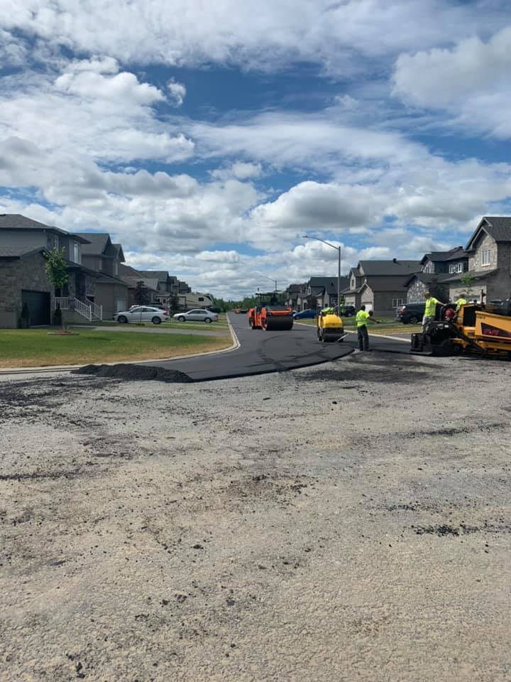 Asphalte JRL Paving roads rollers