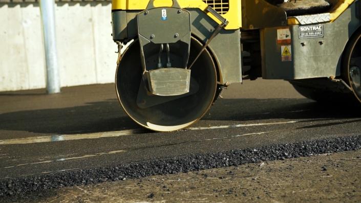 Asphalte JRL Paving roller equipment