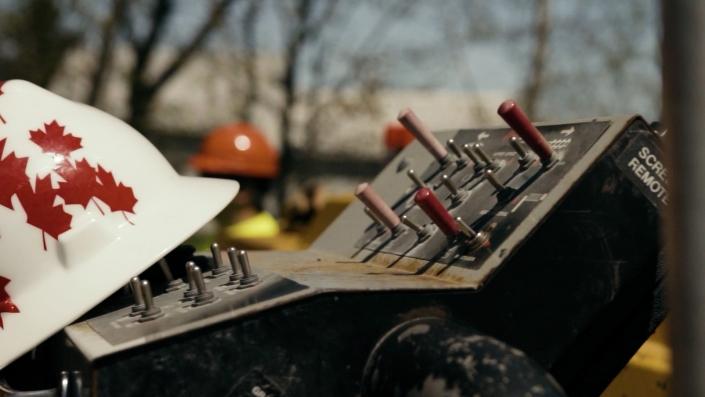 Asphalte JRL Paving control box and hat