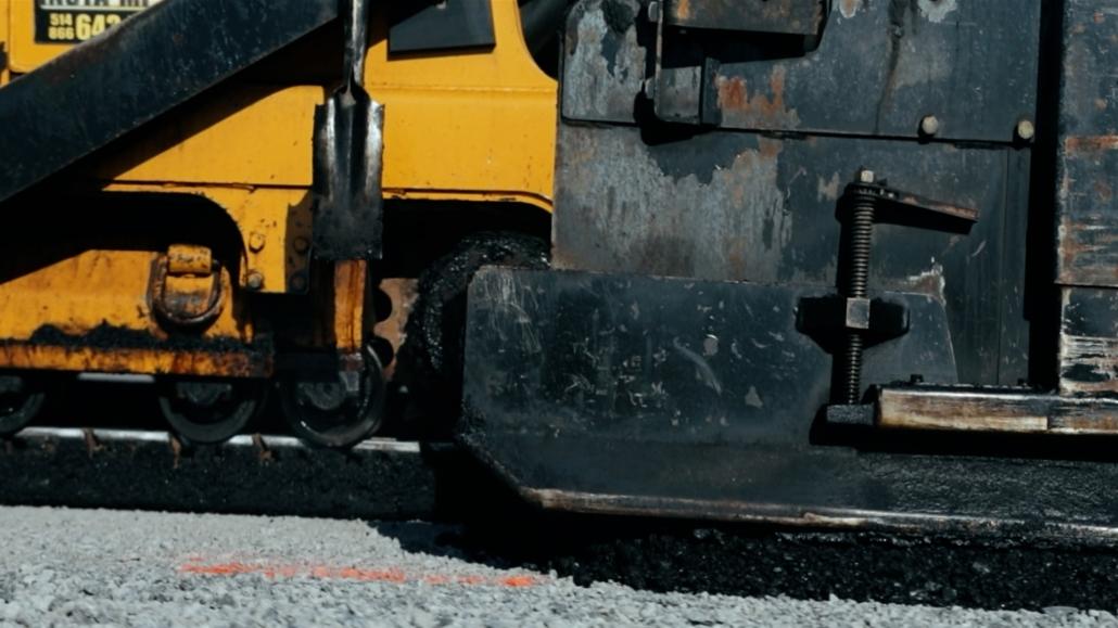 Asphalte JRL Paving road machinery grader