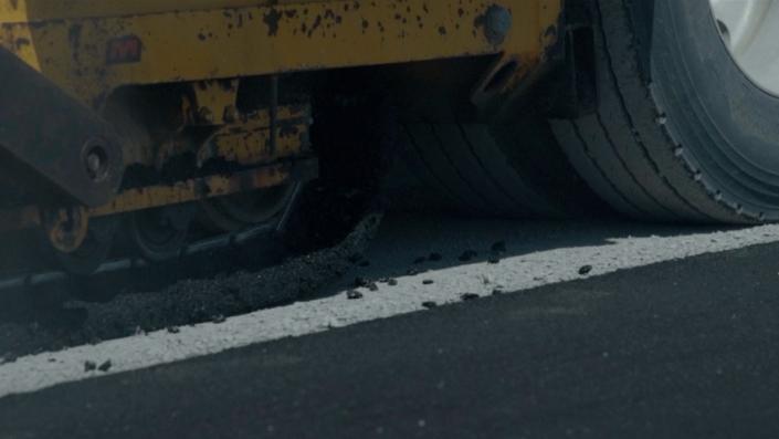 Asphalte JRL Paving grading road heavy equipment